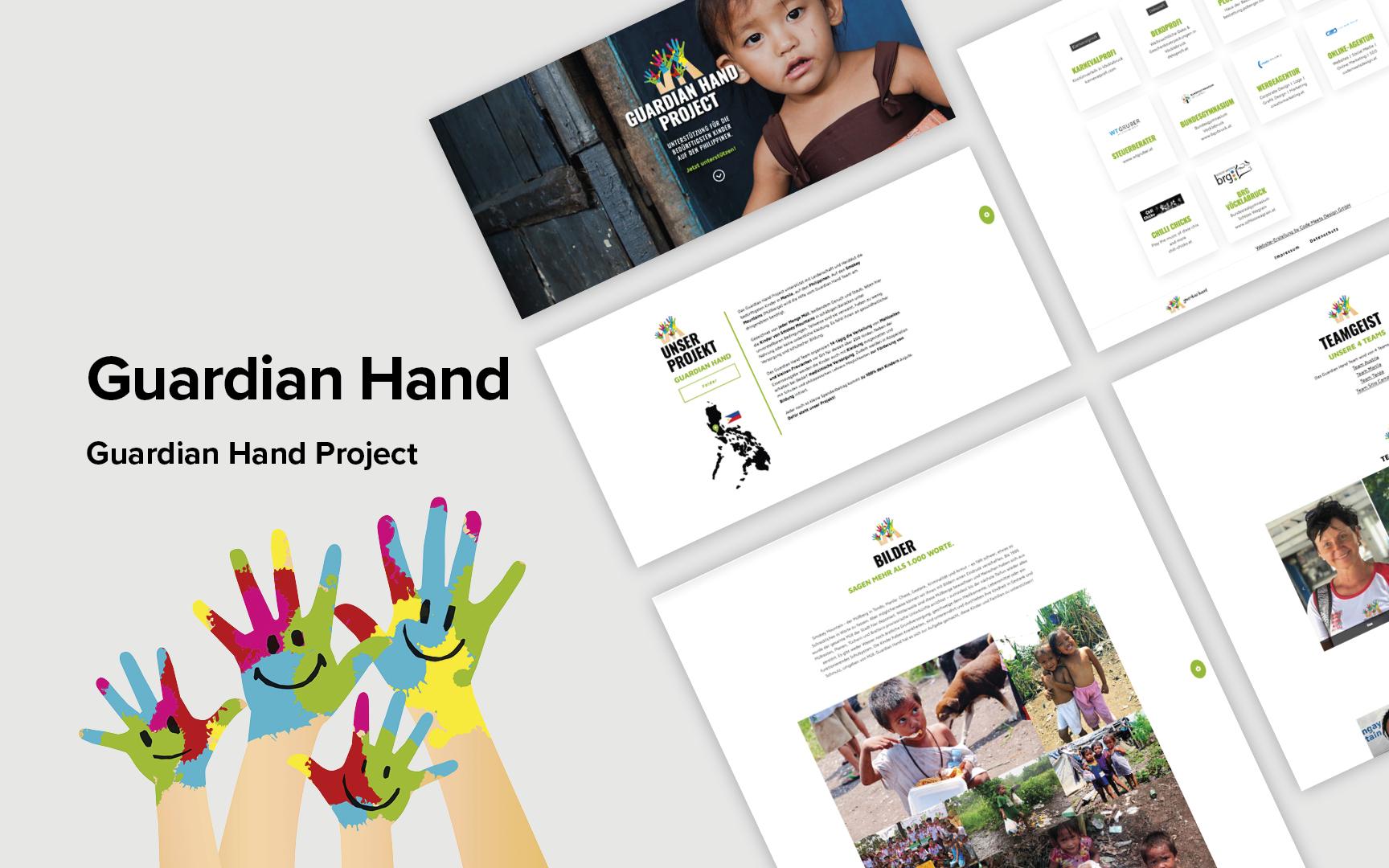 Guardian Hand Website